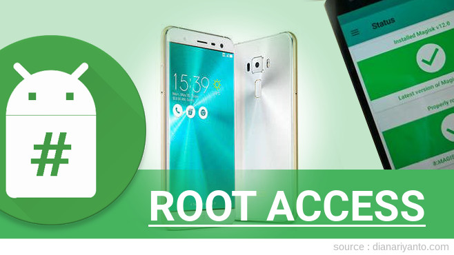 Root ASUS ZenFone 3 ZE552KL Anti Gagal
