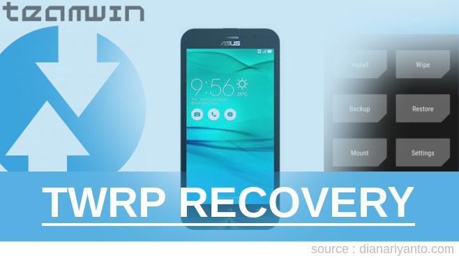 Install TWRP ASUS ZenFone Go ZB500KG Tanpa PC